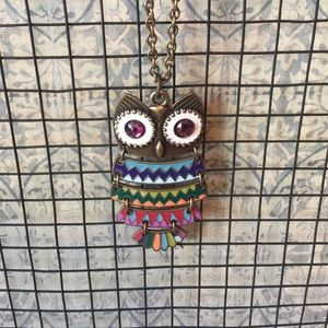 COPY - Owl Necklace